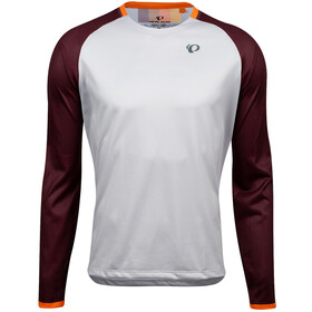 PEARL iZUMi Summit Longsleeve Top Heren, fog/garnet aspect